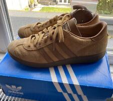 Adidas Originals Hawaii Trainers Island Series Brown UK Size uk 8 US8.5