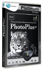 PhotoPlus X5 - Platinum PC NEW + ORIGINAL PACKAGE