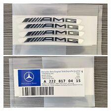 New 4x Mercedes Benz AMG Wheel Badge Emblems/Stickers UK Seller 🇬🇧