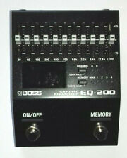 More details for boss eq-200 10 band graphic equalizer guitar pedal eq