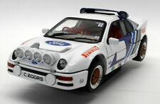 Ricko 1/18 Scale Diecast - 32121 Ford RS200 Rally White Blue
