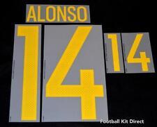 España Alonso 14 euro 2016 Camiseta de fútbol nombre/número de casa Sporting Id