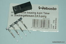 WEBASTO 4 PIN Male 1530 & 1533 CONTROLLER..Extension lead plug ........FREEPOST