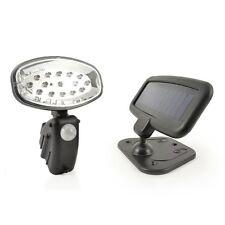 15 LED Solar Power Rechargeable PIR Motion Sensor Security Light Garden Shed