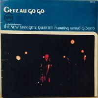 The New Stan Getz Qu-Getz Au Go Go Gatefold Vinyl LP Jazz Latin Jazz, RARE COPY