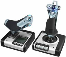 NEW Logitech G Saitek X52 Flight Control System Control System for Simulators