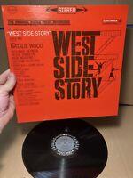 West Side Story Original Soundtrack Recording Columbia Vinyl Record Album