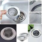 Bathroom Kitchen Sink Drain Strainer Stainless Steel Mesh Hole Filter NewFashion