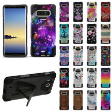 """For Samsung Galaxy Note 8 N950 6.3"""" Hybrid Rubber Silicone KICKSTAND Case Cover"""