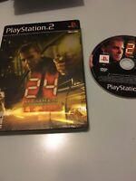 Jeu Playstation 2 Ps2 24 heures chrono le jeu steelbook pal fr