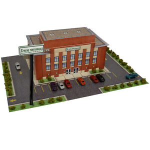 Z Scale Building Kit 1/220 Scale Xtreme Performance Building, Fits Micro-trains