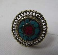 Women's Turquoise Asian Rings