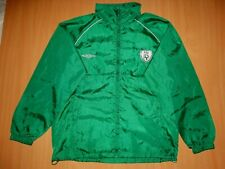 *MINT  REPUBLIC OF IRELAND Training Camp L 2008 2010 Umbro JACKET shirt FOOTBALL