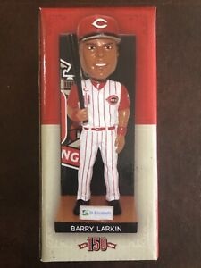 Cincinnati Reds Barry Larkin Bobblehead 2019 150th Anniversary Series SGA NIB