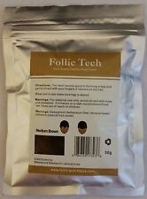 Keratin Hair Fibers Refill Medium Brown 50g Thinning Hair Concealer For Baldness