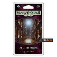 The City Of Archives Mythos Pack Expansion - Arkham Horror Card Game LCG AHC23