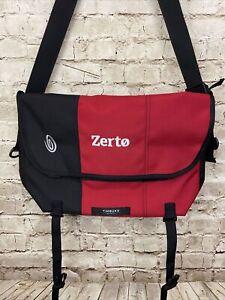 Timbuk2 Custom Classic Messenger Bag - Red / Black - Size Medium