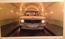 BMW 2002 Turbo Original Printed Car Poster!! Very Rare!!