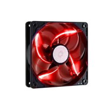 Cooler Master Sickleflow 120 LED 120mm Computer Case Fan - Red