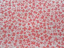 Liberty Tana Césped Tela De Algodón Gracey 'C' 1.15m Rosa Diseño 115cm