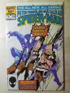 Spectacular Spider Man 119 (9.4) NM (1986)