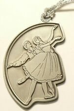 2001 Canada Royal Canadian Mint Dancers Pewter Medal #7014