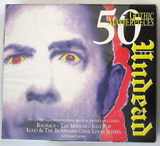 VARIOUS ARTISTS - UNDEAD 50 GOTHIC MASTERPIECES - 3 CD Sigillato