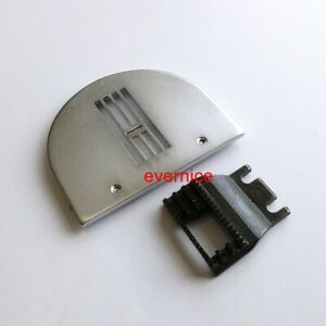 Zigzag Needle Throat Plate+Feed Dog Feeder For Brother B651 B652 Sewing Machine