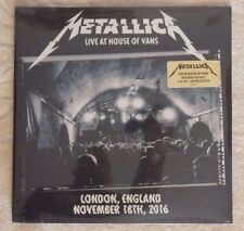 METALLICA 3 lp set LIVE AT HOUSE OF VANS - LONDON NOV 18TH 2016 limited edition