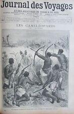 JOURNAL DES VOYAGES N° 952 de 1895 AFRIQUE CHASSE  /  MADAGASCAR / SIAM YIERSIN