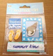 Pegatinas dimensional Crafts Álbum de Recortes Tarjetas verano arte hecho a mano personalizar conchas