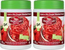 2 BALL Real Fruit Low Or No-Sugar Needed Pectin Canning Food 5.4oz 1440071265