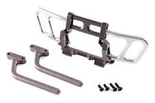 Jazrider Aluminum Gun Metal Front Bumper Guard Bull Bar Set Axial Racing Wraith