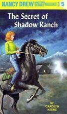 Nancy Drew: The Secret of Shadow Ranch 5 Carolyn Keene 1997 Hardcover LIKE NEW!