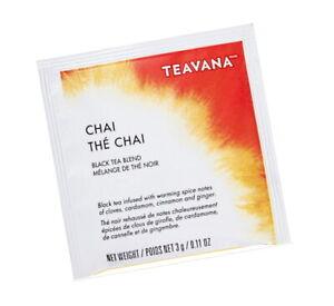 FRESH STOCK Starbucks Teavana - The Chai Black Tea - 300 Sachets No Box