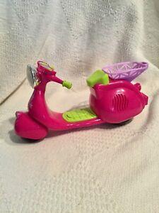 Diva Starz Scooter pink lights up motor sound VGUC. Mattel