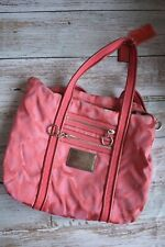 Coach Poppy Womens Fushia Pink Tote Shoulder Bag Purse Euc