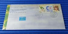 1995 Singapore First Day Cover '95 Orchids Series Commemorative Stamp Issue 1993