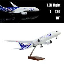 "18""(46cm)1:150 Airplane Model All Nippon B787 with LED Light for Business Gift"