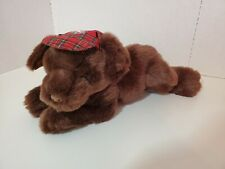 "Gund EDDIE BAUER Plush Toy Dog Stuffed Vintage Hunting HTF 16"" Tan Retired 1995"