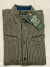 NEW WITH TAGS MEN'S SCOTCH&SODA REGULAR FIT SHIRT- STRIPES -SMALL-$145.00