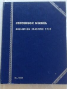 United States Coins in Whitman Nickels Folder Starting 1938: Jefferson Nickels