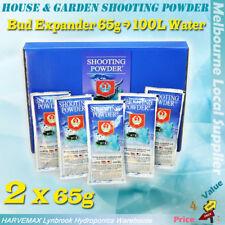 2 x 65g HOUSE&GARDEN SHOOTING POWDER SACHET HYDROPONIC FLOWER STIMULATOR BOOSTER