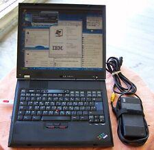 Rare IBM Laptop G-40 Type 2388 Intel-P4 2.8GHz 504MB 30GB Parallel Floppy (x a t