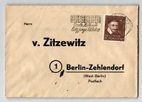 Germany 1952 Cover w/ Wiesbaden Slogan Cancel - Z13467