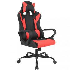 Gaming Chair Racing Chair Office Chair Ergonomic High-Back Leather Chair w   Arms 1a71a76001542