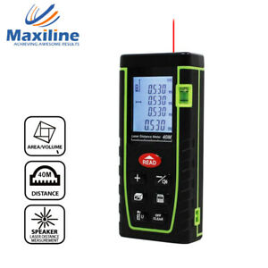 40M Laser Distance Meter Measurer Rangefinder Tape Measure Fathers Day Gift