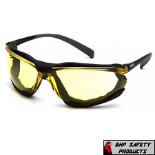Pyramex Proximity Safety Glasses With Amber H2x Anti-fog Lens