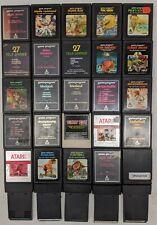 30 Pieces Atari 2600 Cartridge Cart Lot Collection