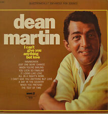 """DEAN MARTIN - I Can`t give you anything but love - LP 12 """" (s) 603)"""
